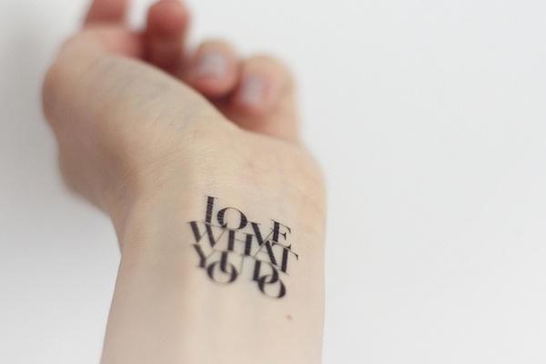 Des Jolies Typo Pour Un Tatouage Trendy Mood