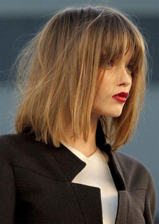 coupe cheveux carre meche