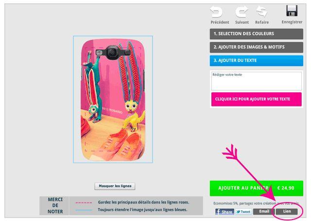 Personnalisez votre tui smartphone ou tablette avec for Fenetre qui clignote