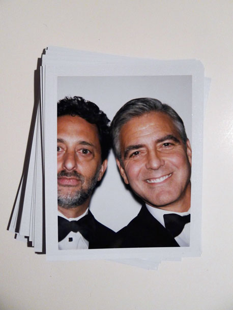 Grant Heslov and George Clooney