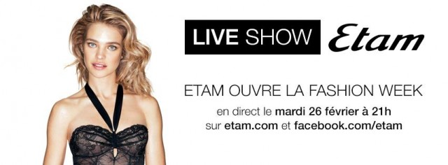 Live Show Etam Lingerie