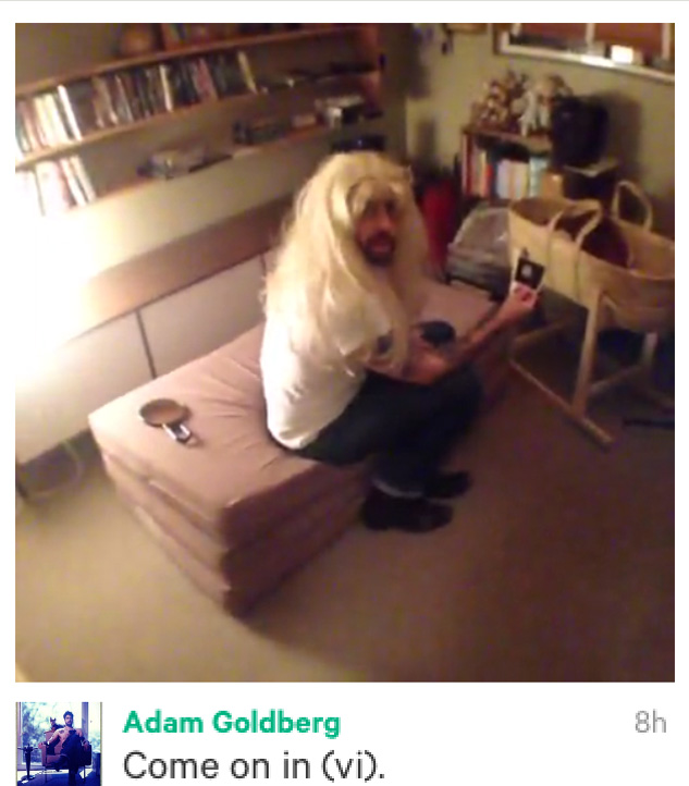 Adam Goldberg on Vine