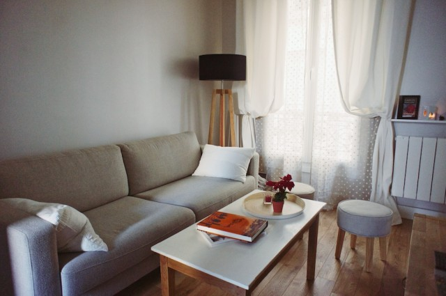 un appartement cosy paris trendy mood. Black Bedroom Furniture Sets. Home Design Ideas