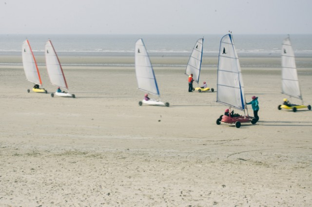 Chars à voile - Dunkerque