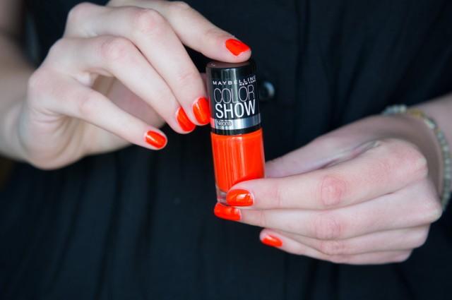 neon trendy mood - Vernis Color Show