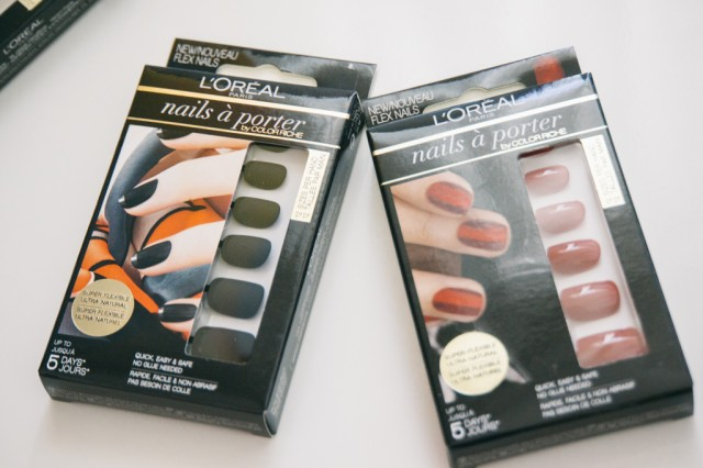 l'oreal faux ongles