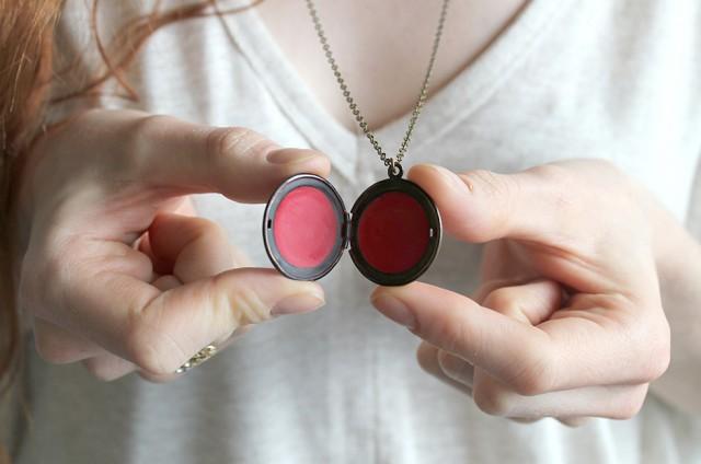 DIY Le collier Baume à Lèvres