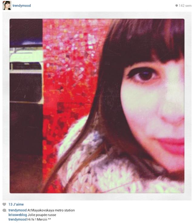 Instagram Russie