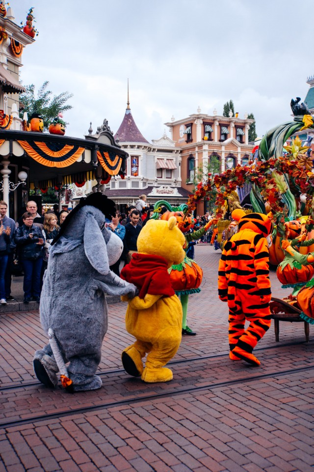 Disneyland Paris Halloween Mini Parade-13