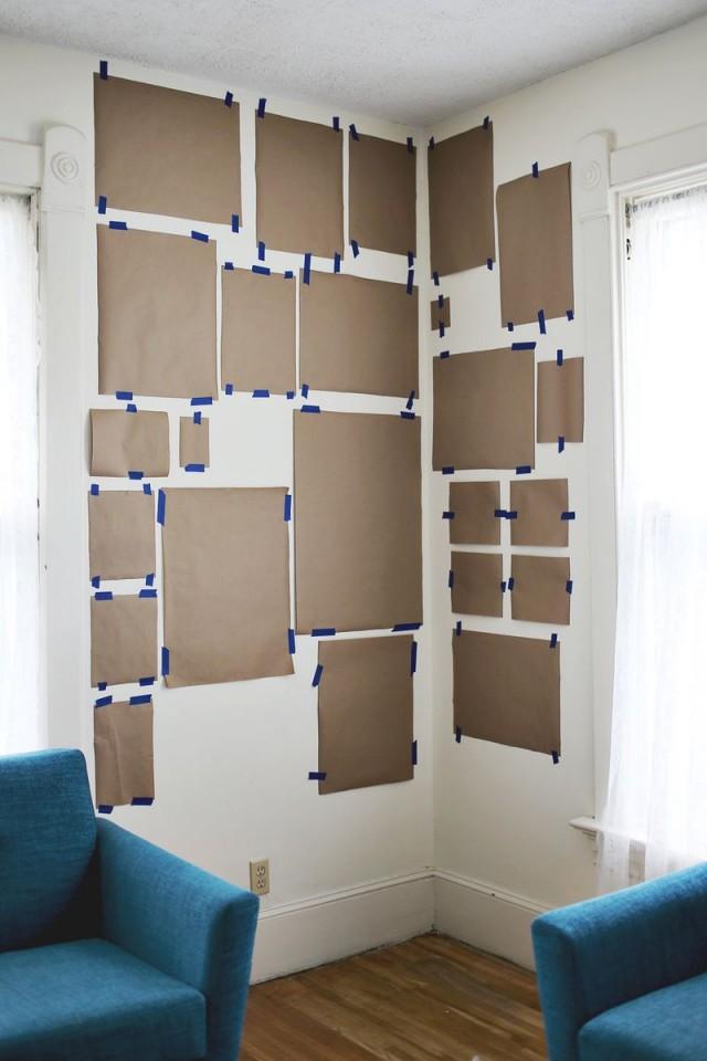 spotted installer son mur de cadres trendy mood. Black Bedroom Furniture Sets. Home Design Ideas