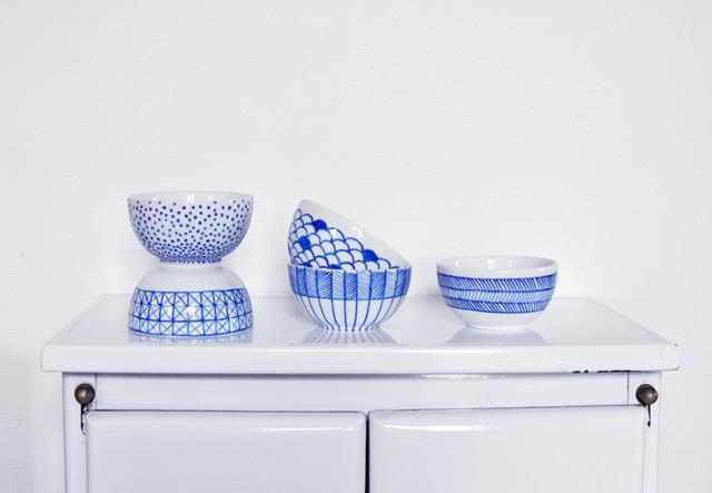 DIY bols en céramique