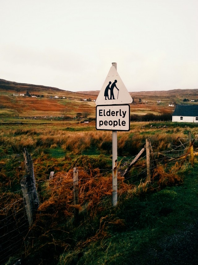 Elderly People - Ecosse