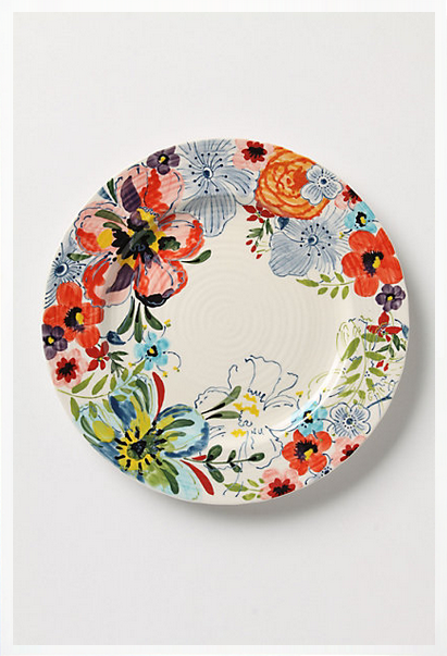 Assiette Anthropologie