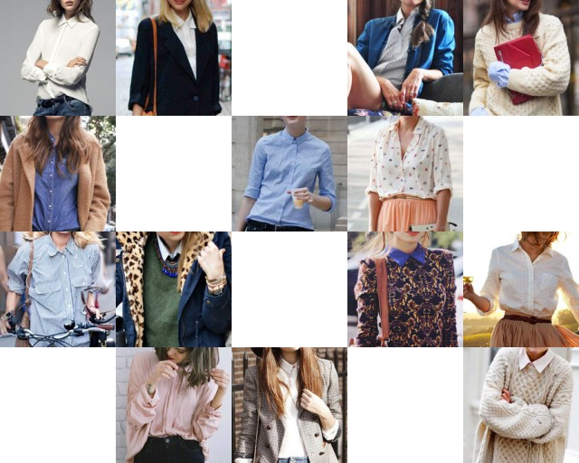 Inspirations-Chemise