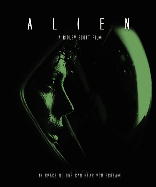 Alien animé