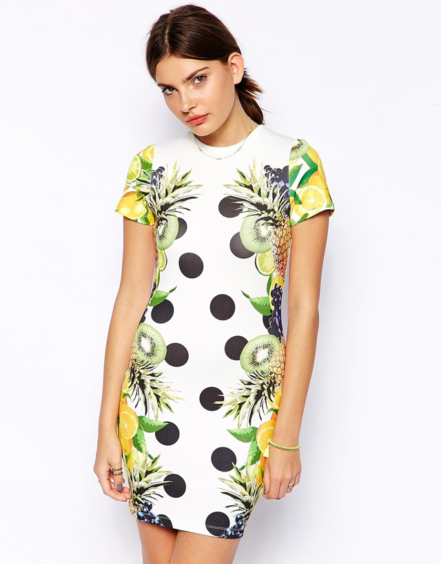 Robe fruits Asos