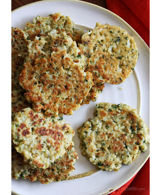 cauliflower-fritters