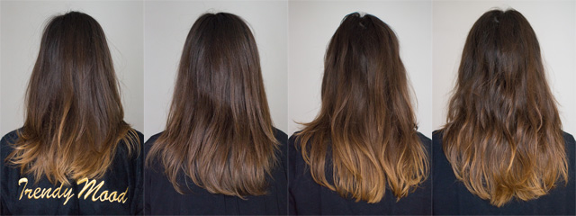 de lvolution dun ombr hair un an aprs trendy mood - Coloration Apres Decoloration