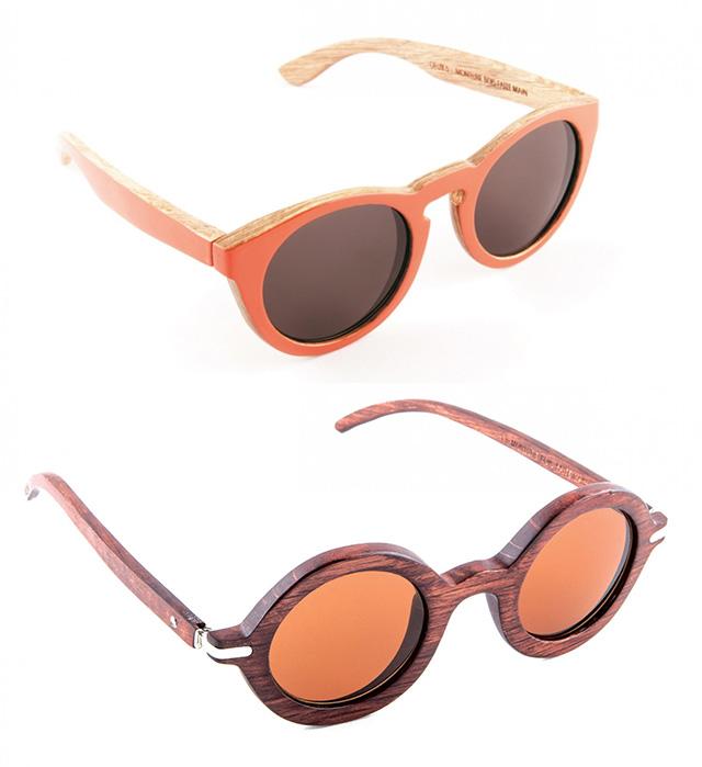 lunettes de soleil sur The Tops