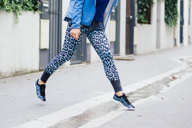 Courir sur la pointe des pieds