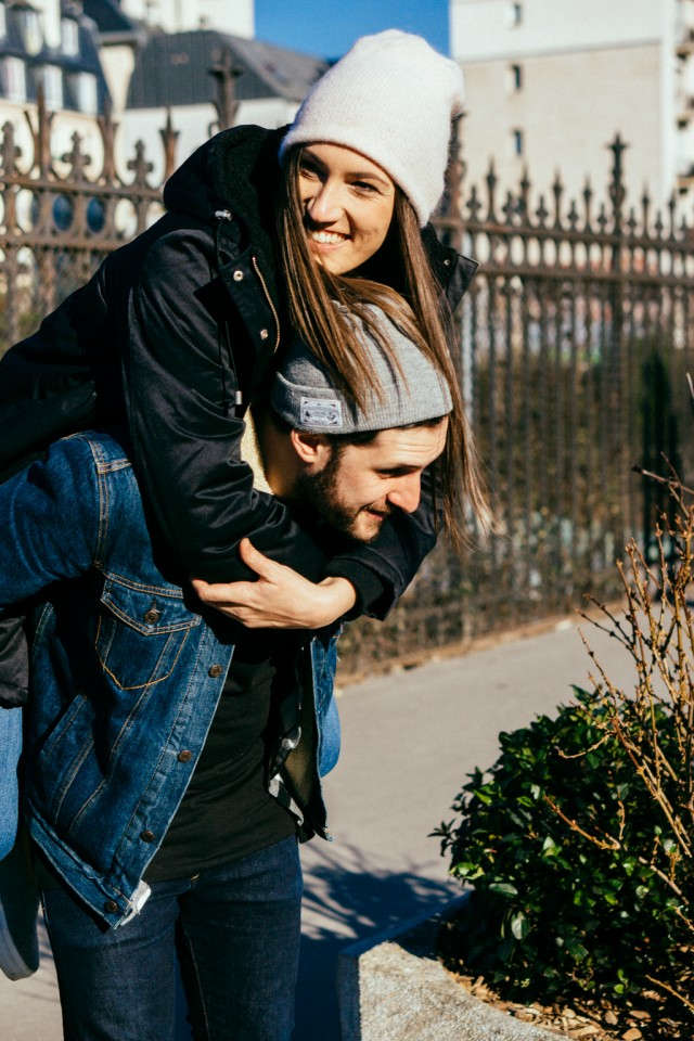 Shooting couple - St Valentin