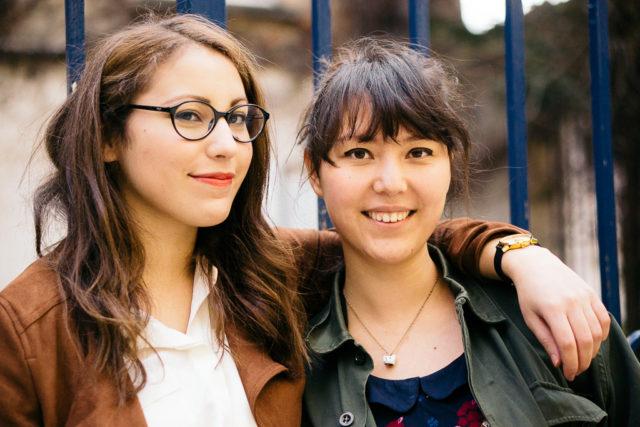 Ghezelaine et Mia-1