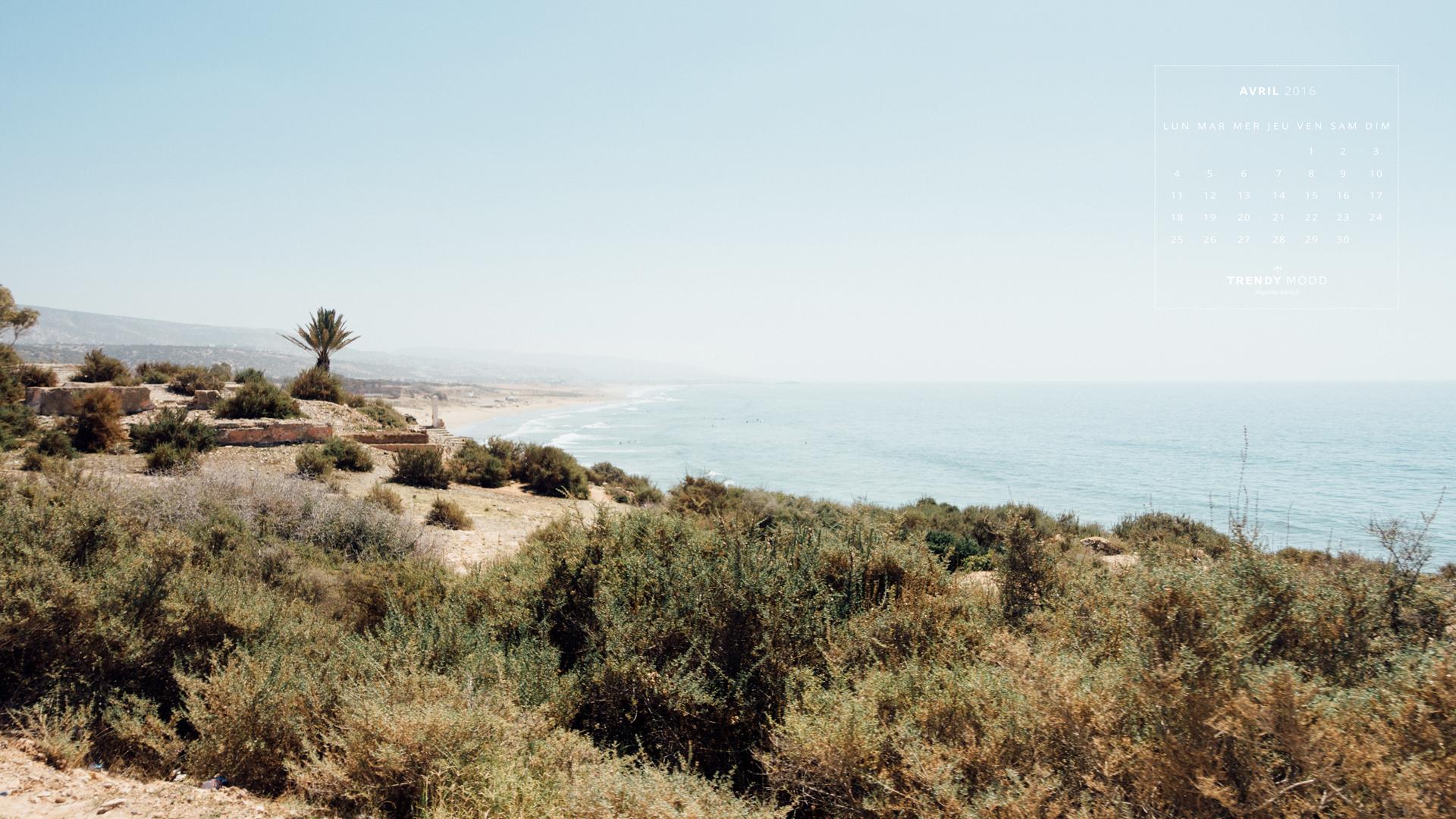 Fond d'écran et calendrier - Photo du Maroc