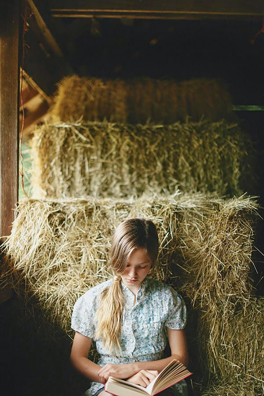 Jeune fille qui lit