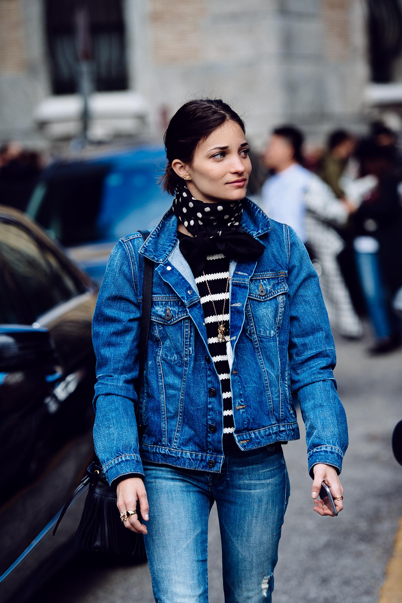 Maria Dueñas Jacobs Blue Jean Look
