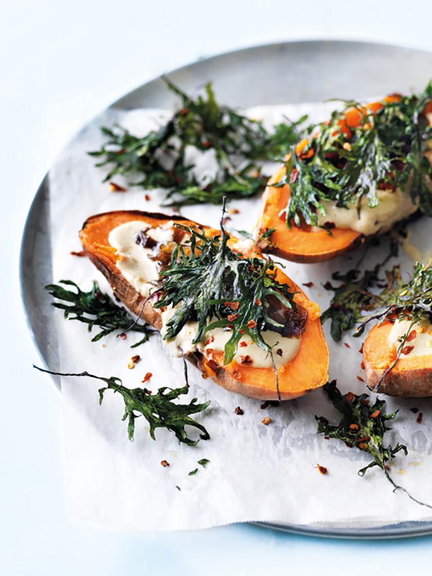 Sweet-Potato-Kale-Caramelized-Onions