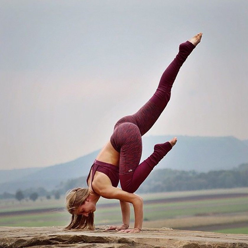Yoga Crow Pose
