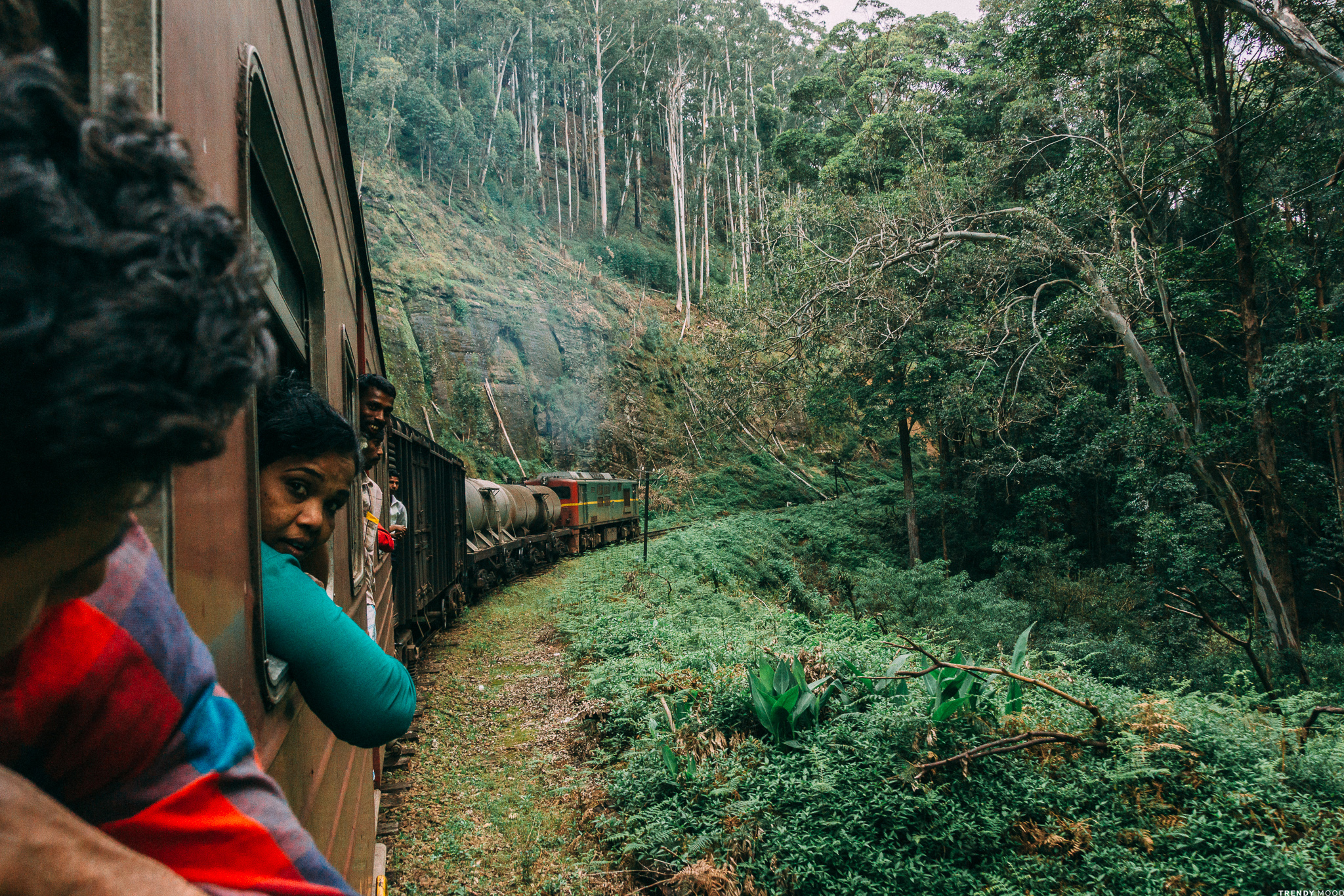 Sri Lanka - Train
