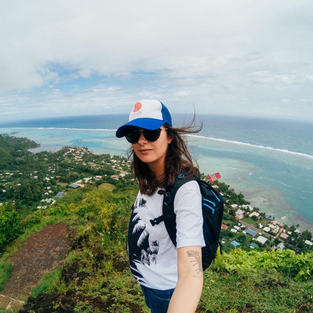 Voyage à Tahiti - Moorea - Selfie