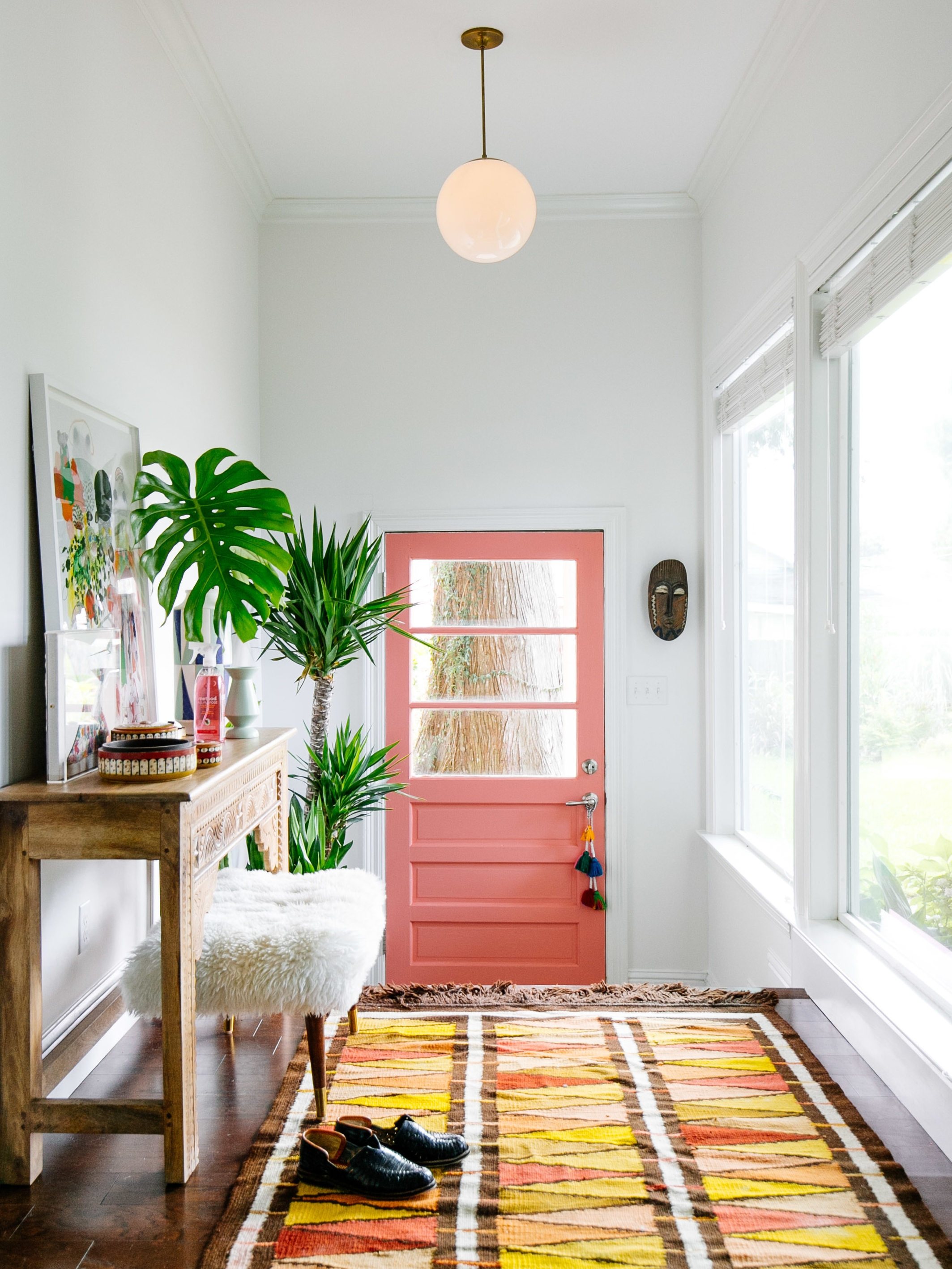 Mudroom Makeover with method by Old Brand New