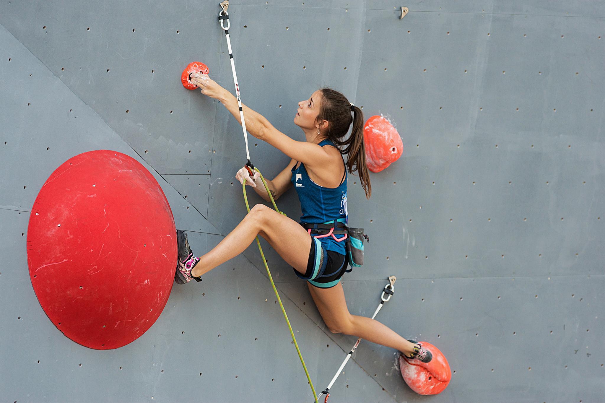 Mathilde Becerra en compétition