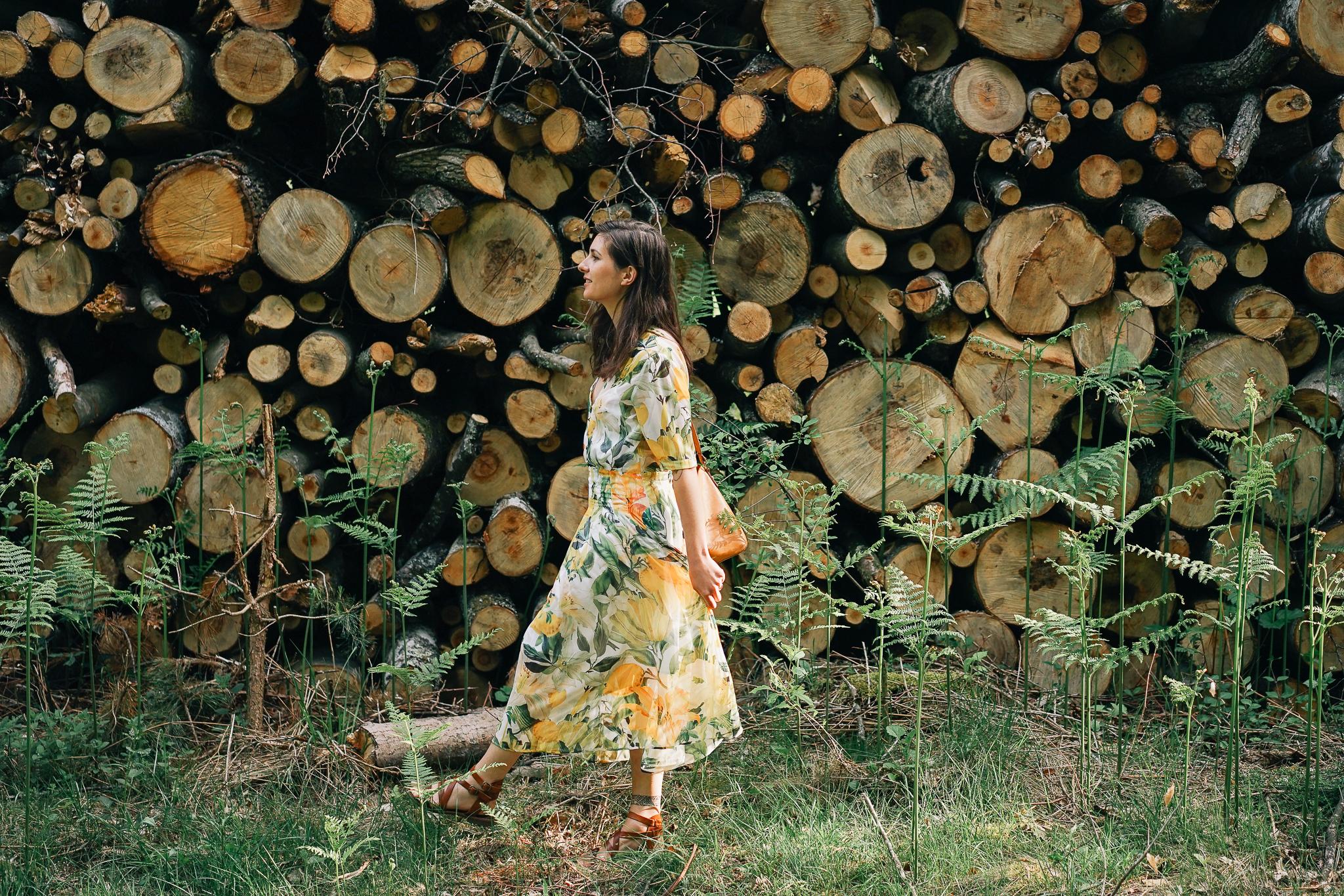 La robe à fleurs…
