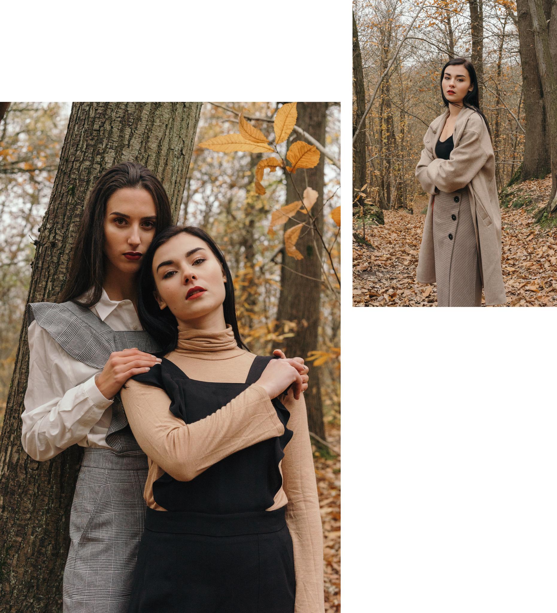 L Univers D Inès Mediterranean Style: Édito Mode En Forêt Avec Charlotte Et Eva