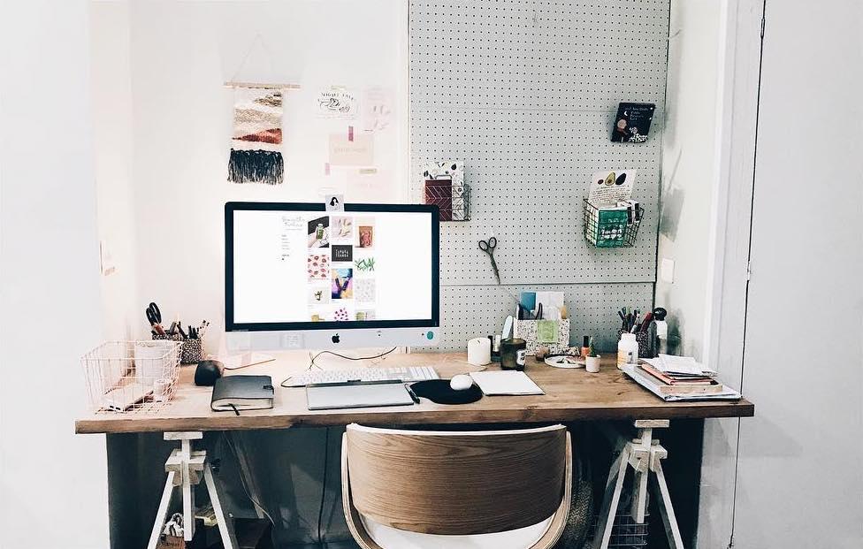 Bureau : bien laménager pour travailler efficacement trendy mood