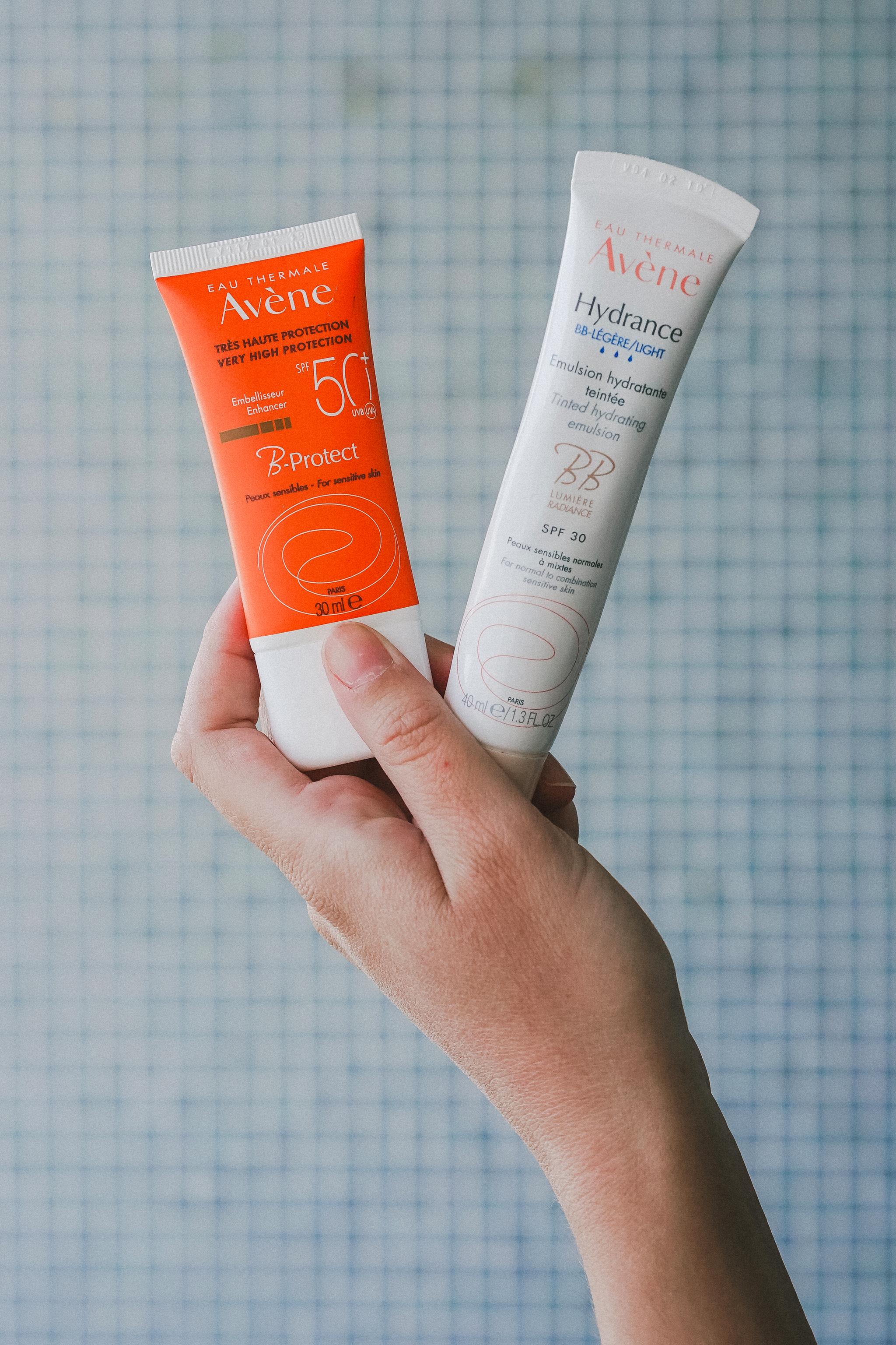 B-Protect et BB Cream Avène - Protection solaire