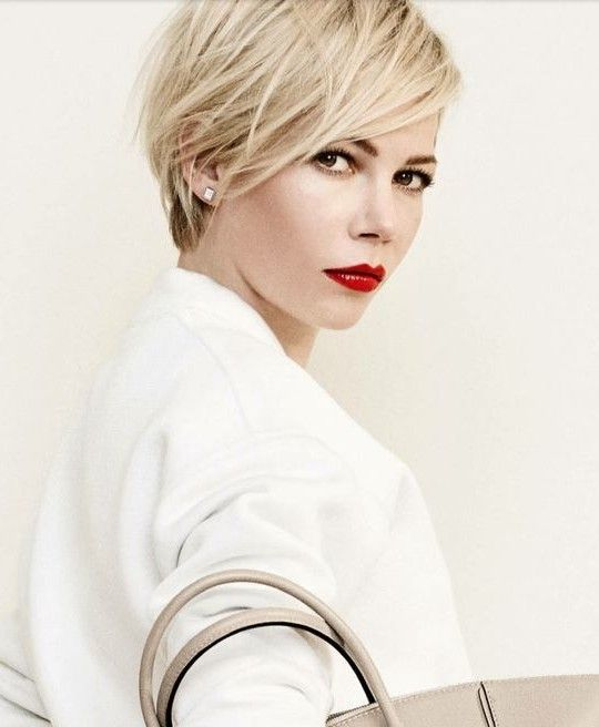 short haircuts for women 2015 si on passait au court des id 233 es de coupes de cheveux 9517 | michelle williams short hair1