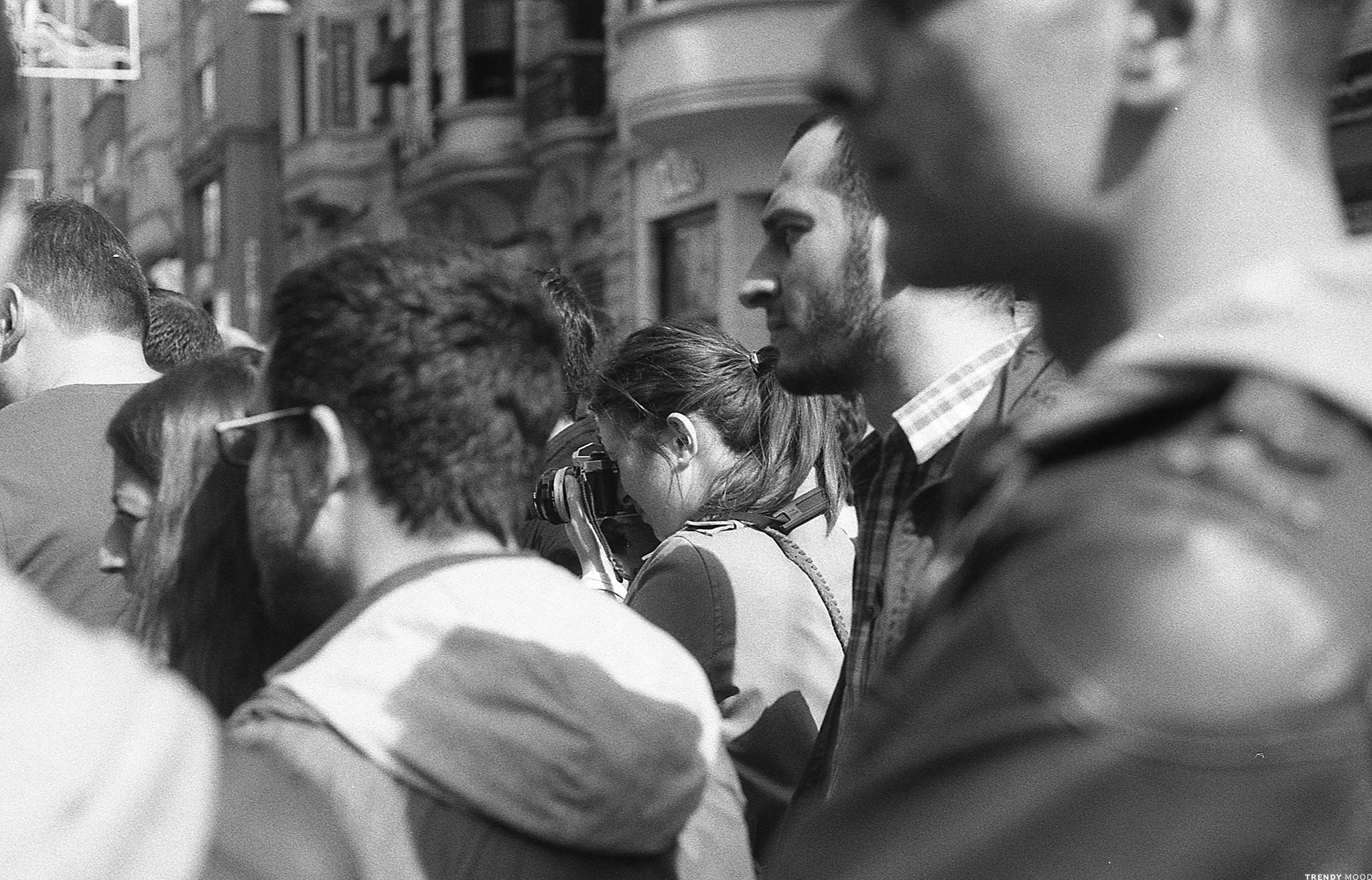 Photographie Leica - Portrait Noémi à Istanbul