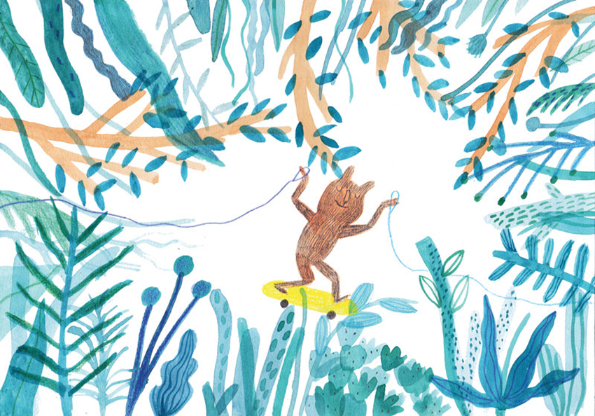 Dans la jungle - Marion Barraud