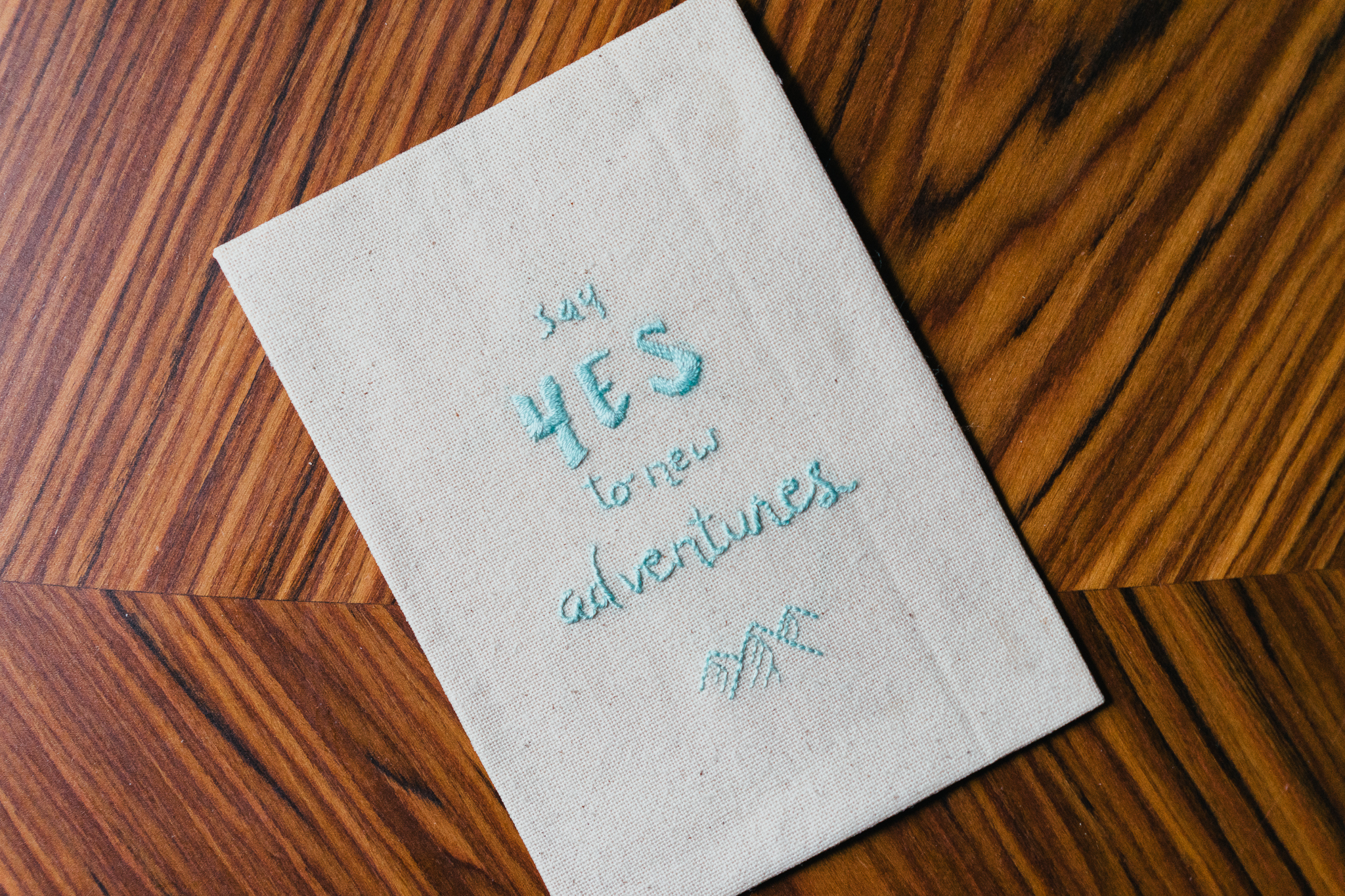 Say yes - Broderie Mantra