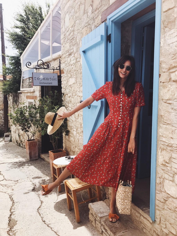 Inspiration robe fleurie - Polienne