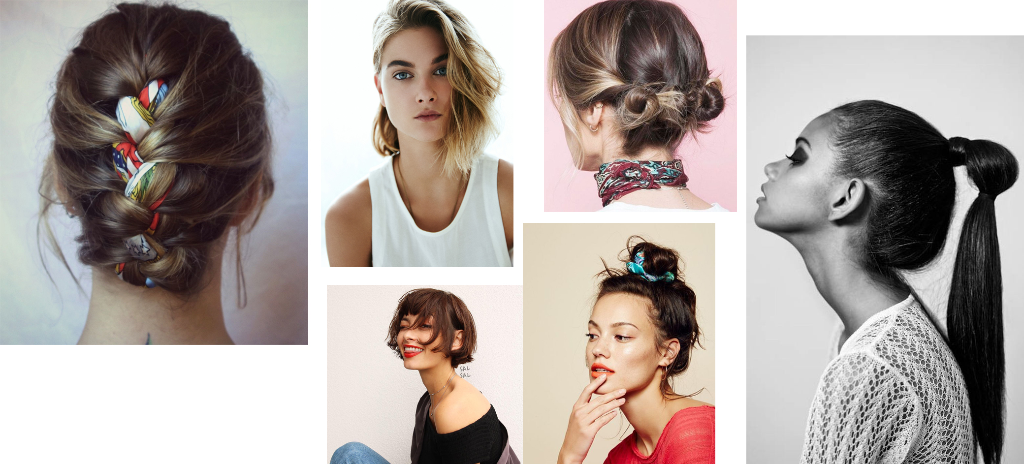 Idées coiffures pour l'été